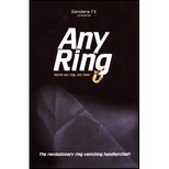ANY RING Richard Sanders 2